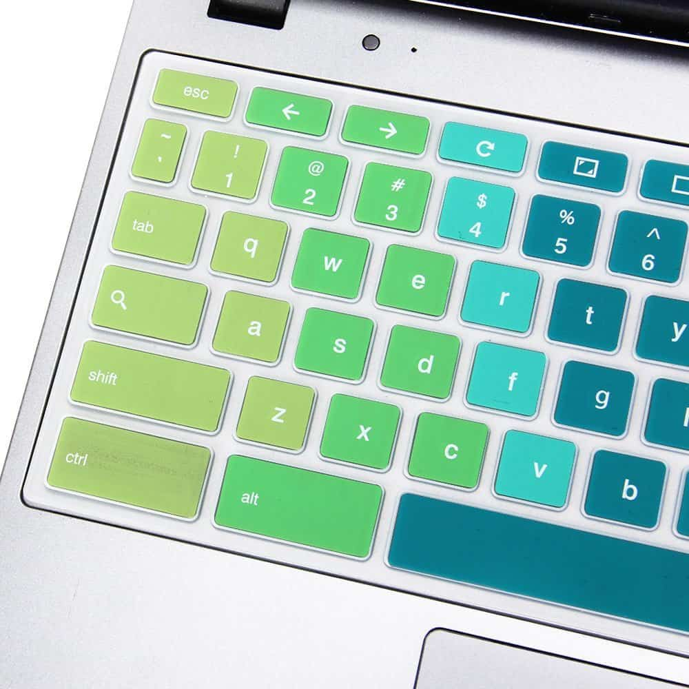 Gmyle Rainbow Silicon Keyboard Cover For Acer 116 Chromebook Cb3 Protector Silicone 14 Inch