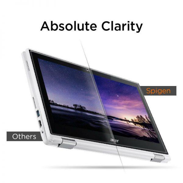 Chromebook Guide - Chromebook Accessories - Acer Chromebook R11 - Screen Protector - Spigen
